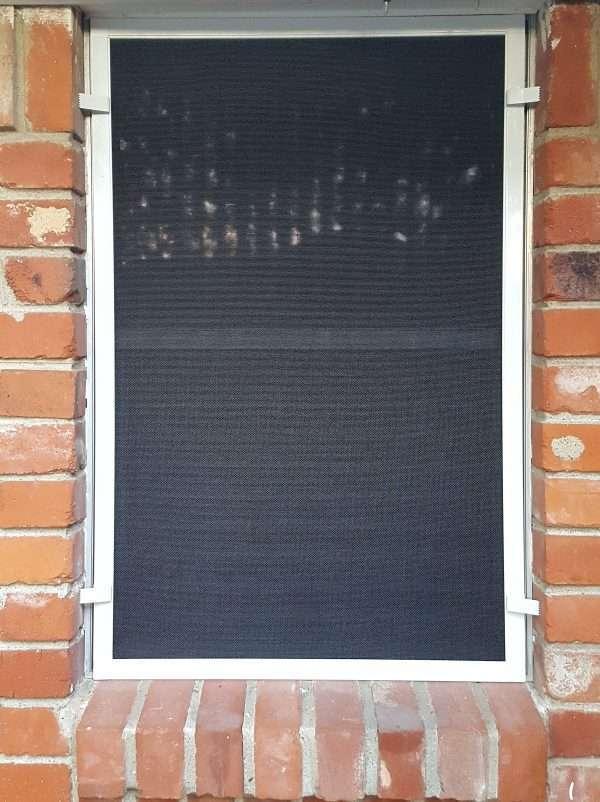 Solar Screen w/ Brick Clips