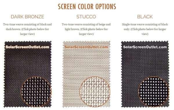 Screen Color Options