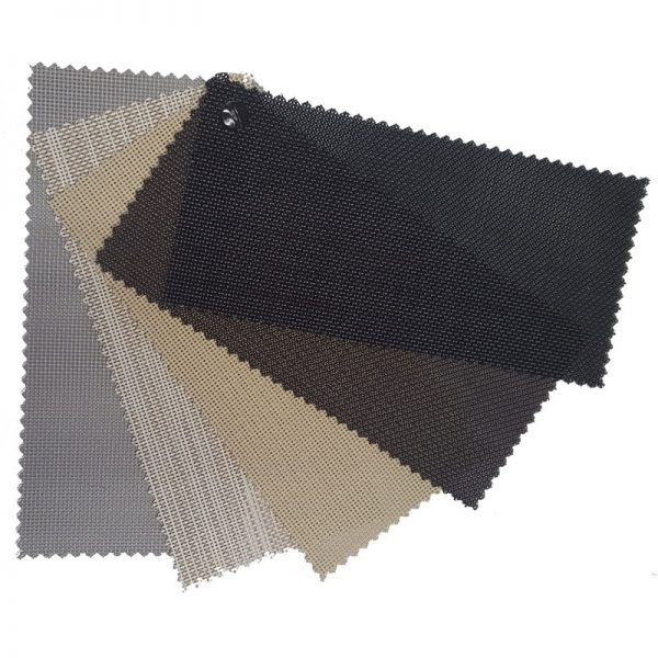 solar screen fabric samples