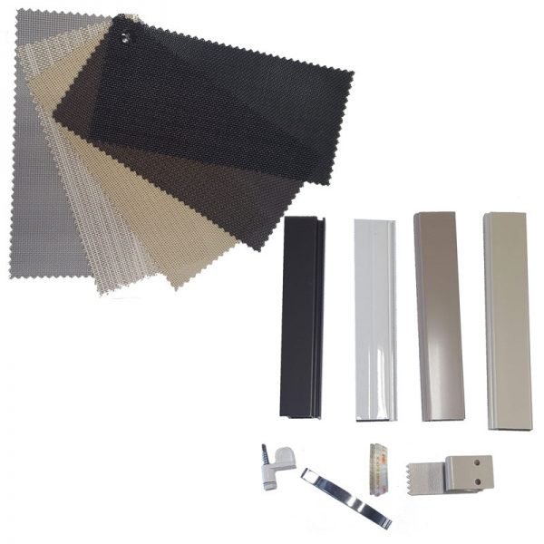 solar screen sample kit