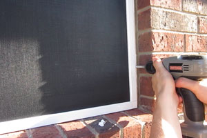 Solar Screen Installation Instructions