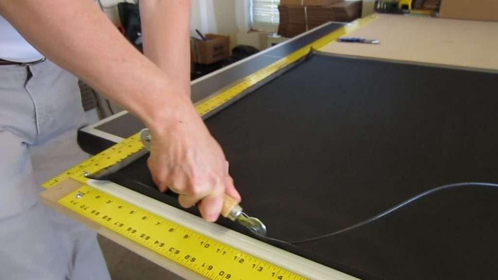 Solar Screen Assembly roll spline