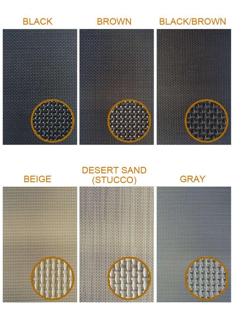 solar screen colors